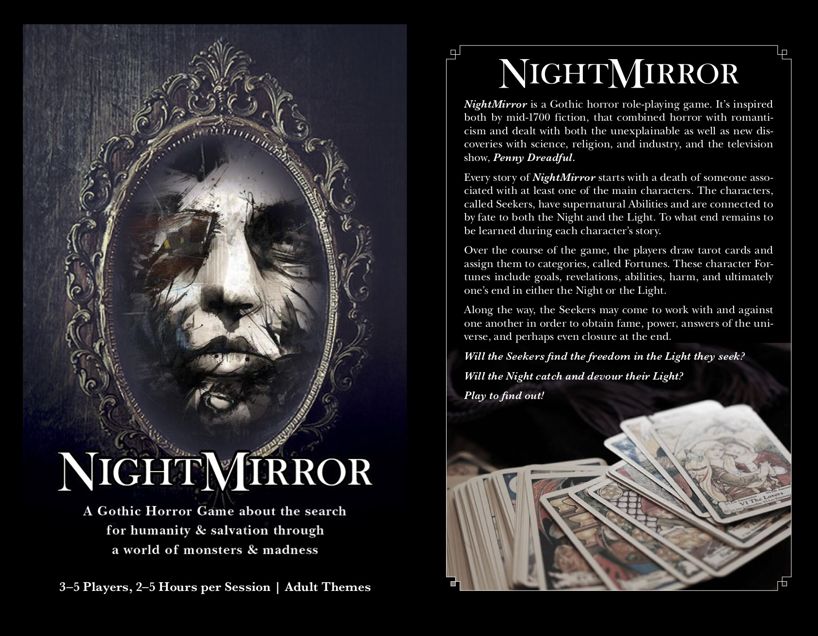 NightMirror preview