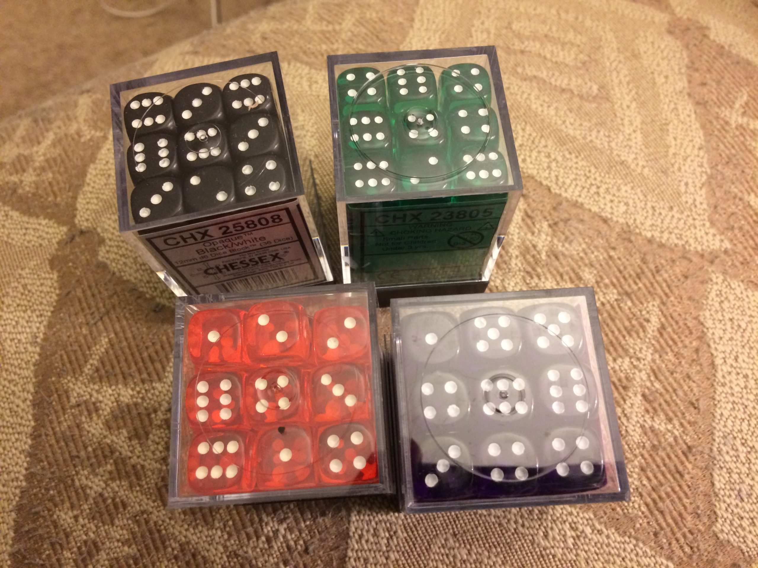 More dice for Dark Well